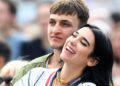 LONDON, ENGLAND - JULY 06: Dua Lipa and Anwar Hadid attend Barclaycard Presents British Summer Time Hyde Park at Hyde Park on July 06, 2019 in London, England. (Photo by Dave J Hogan/Getty Images)