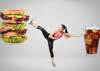 Fit fitness food health sport fight diet