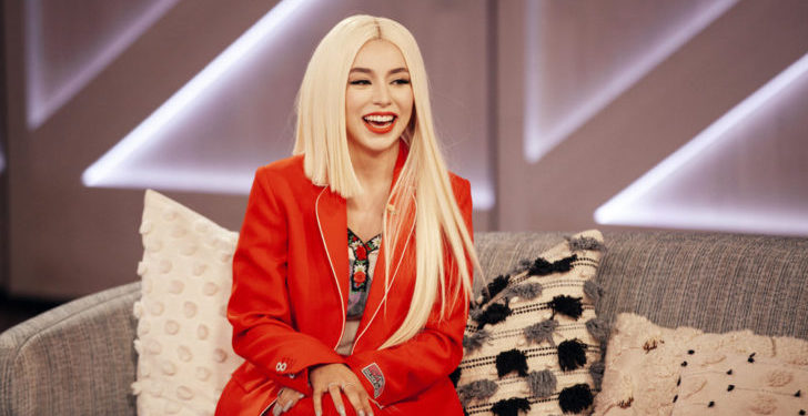 THE KELLY CLARKSON SHOW -- Episode 4147 -- Pictured: Ava Max -- (Photo by: Weiss Eubanks/NBCUniversal)